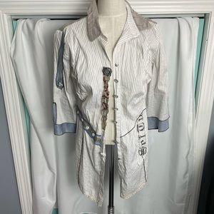 Elisa Cavaletti Shirt Fits size S